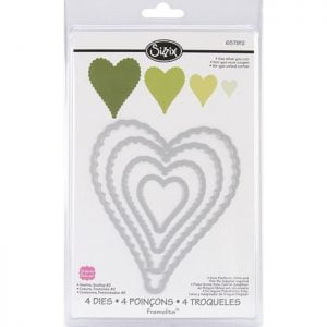 Heart Scallop die set