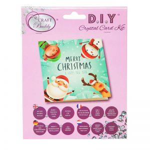 Merry Christmas Crystal Card Kit
