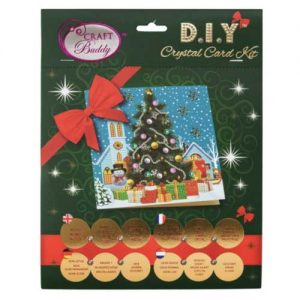 Christmas Tree crystal art set